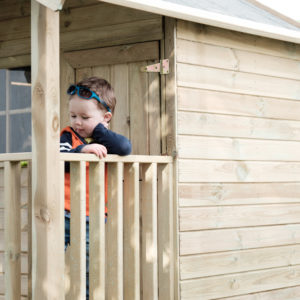 Childrens Wooden Playhouse | Outdoor Playhouse | Playhouses | Kids Playhouse | Wooden Playhouse Ireland | Dino Dens