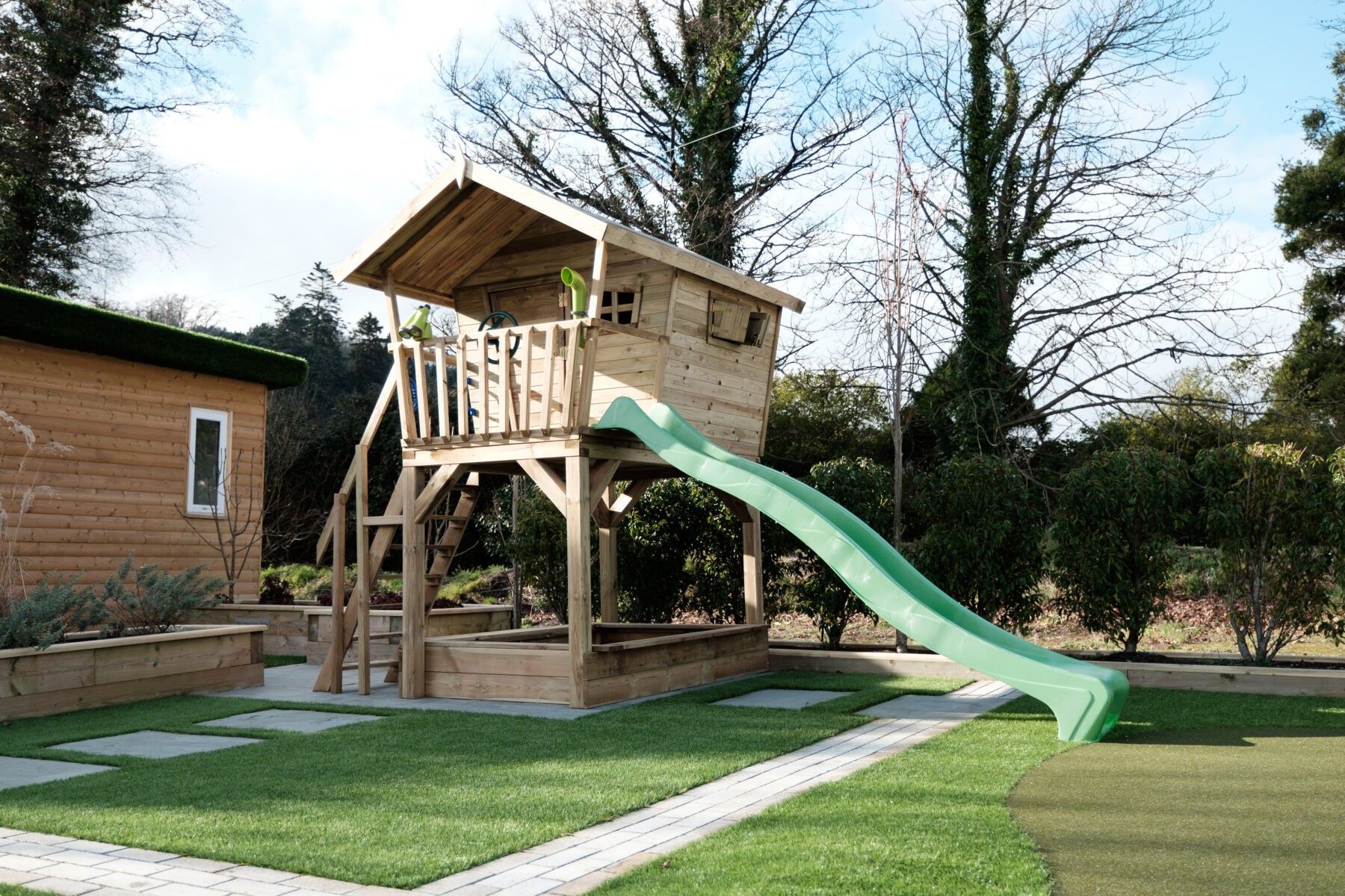 Tree House For Kids | Playhouses | Kids Playhouse | Wooden Playhouse Ireland | Dino Dens